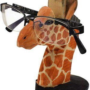VIPbuy Handmade Wood Carving Eyeglasses Spectacle